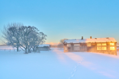 Løvikremma - Vintermorgen