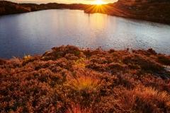 Solnedgang - Smågevatnet