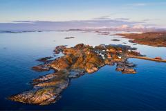 Rindarøya - Drone