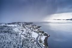 Mai snøen - Aukraskogen