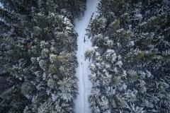 Aukraskogen - Vinter - Drone - 4