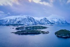 Kjerringsundet  mellom Gossen og Otrøya