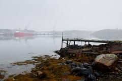 Forfall- Båten ved kaia