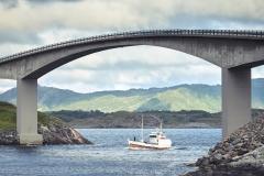 Atlanterhavsvegen - Båt