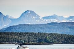 Båt på Moldefjorden