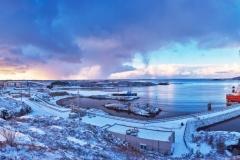 Nyhamna - Vinterbilde