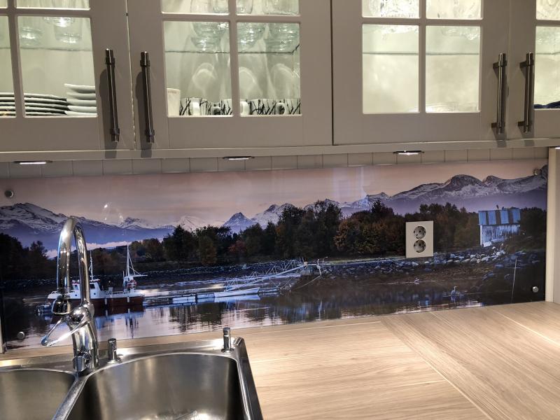 Dekorering av kjøkkenbenk