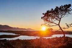 Solnedgang fra Jærmannburet -1
