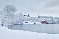 Vinterlandskap - Eikrem - 8