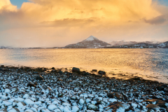 Vinterskyer  Tangen