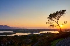 Jærmannburet - Solnedgang
