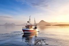 Morgen i Boktinj- Fisker