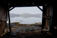 utsikt fra Nautneset - naust