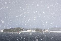Snø - oterhalsen