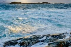 Rindarøya  - Utsikt mot Kjølingen