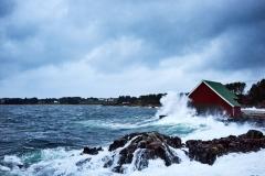 Ruskevær -Røssøyvågen