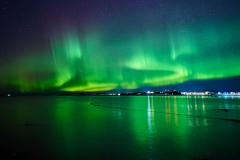 Nordlys fra Røssøyvågen