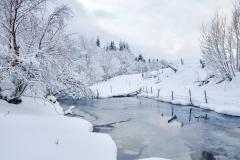 Vinterlandskap - Eikrem -1