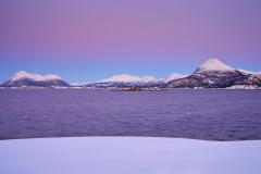 Vintermorgen fra Boktinj