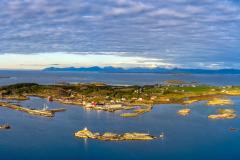 Sandøya - Dronepanorama
