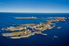 Bjørnsund - Dronefoto