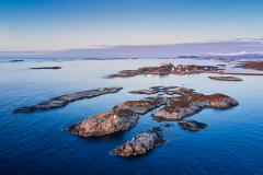Kjølingen - Rindarøya - Drone