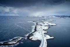 Atlanterhavsveien - Drone - Averøya