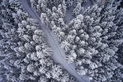 Aukraskogen - Vinter - Drone - 3