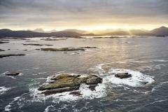 Utsikt mot Atlanterhavsvegen
