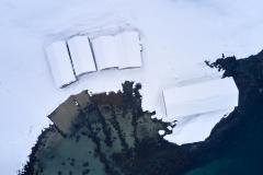 Eikremsnausta - Dronebilde - Vinter
