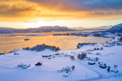 Boktinj - Dronebilde - Vinter