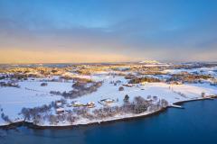 Nerbøberget -Drone - Vinter