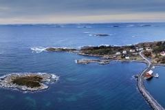 Dronefoto - Rindarøya