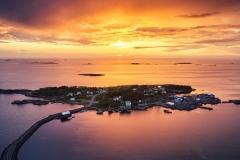 Dronefoto - Rindarøya -2