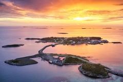 Dronefoto - Rindarøya -1