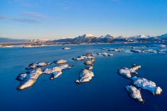 Seterholmene - Vinter- Drone