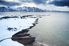 Dronefoto - Horrem - Vinter
