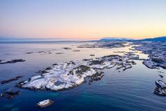 Lillesandø - Averøya - Drone  - Vinter