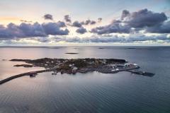 Rindarøay - Dronefoto april 2017