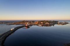 Rindarøya - Dronefoto januar 2017
