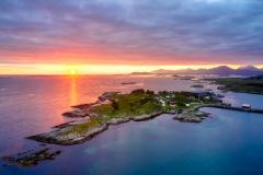 Rindarøya- dronefoto