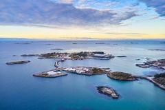 Rindarøya - Dronefoto - Vinter - 1