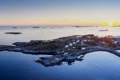 Rindarøya - Panorama - Morgen