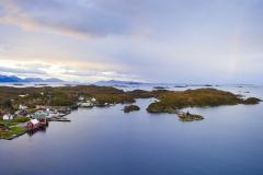 Røssøyvågen  - Regnbue Panorama