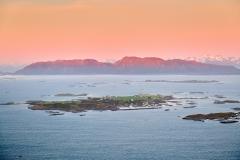 Sandøya - Flyfoto 1