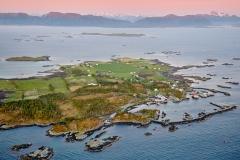 Sandøya - Flyfoto 2