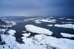 Dronefoto - Seter Vinter