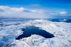 Smågevatnet  - Vinter - Drone