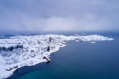 Røssøyvågen - Vinter - Drone