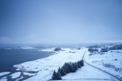 Vinter - Dronebilde Oterhalsen